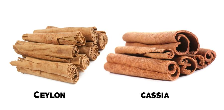 Varietà della cannella