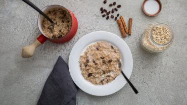 Porridge con cannella